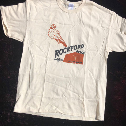 Vintage BMX Rockford 2012 Event Shirt